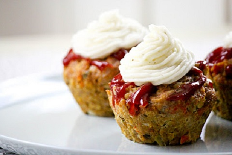 Diner Meatloaf Muffins